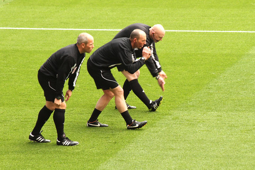 Referees warm up 2