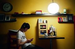 Good night (我的小風景) Tags: leica home fujifilm m3 pro160s
