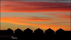 Silo Sunrise (Mark-Cooper-Photography) Tags: silhouette clouds sunrise canon grain australia silo nsw outback 2711 hay plains murrumbidgee oranfe 24105mm 550d ef24105l t2i hayplains haynsw eos550d markcooperphotography