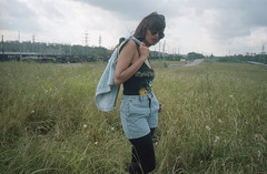 (Jillian Camille) Tags: life camera travel flowers girls friends sky black green love film nature colors girl beauty sunglasses female youth clouds analog america 35mm happy freedom daylight model iron flickr alone afternoon wind outdoor tx  creative attitude 35mmfilm dreamy lonely filmcamera jillian wilderness camille maiden aw 2012 jilliancamille
