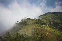 Nepal (44) - 30Sep10, Hile (Nepal) (]) Tags: voyage trip nepal cloud mist mountain green nature fog montagne landscape vert nuage paysage brouillard brume npal hile