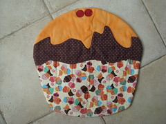 Jogo Americano (Fazer O Qu??? By Caramelo) Tags: galinha pscoa cupcake coelho tulipa maa pascoa necessaire jogoamericano