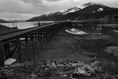 Under Mt. Jumbo (J Hutchins) Tags: alaska reflections juneau gastineauchannel douglasisland oldpier mtjumbo ranierbeer fujinon182 unexplainedbody