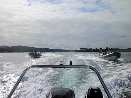 Easdale 2012 RIB rendezvous in transit