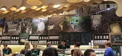 A Beautiful Starbucks (lolaazeez93) Tags: pictures coffee shop wall canon menu mugs starbucks westfield 1100d