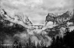 The Dream (landESCAPEphotography | jeff lewis) Tags: california park travel trees jeff nature fog landscape waterfall view hiking nevada scenic lewis tunnel sierra special national yosemite bridalveil landescape capitan wawona