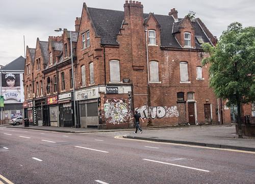 Catherine Street In Belfast