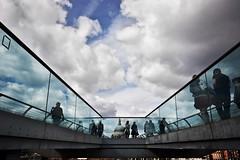 Millennium Bridge (sgrazied) Tags: light clouds pauls rimini canoneos20d brigde romagna londonst sgrazied interphoto cathedralinghilterrauklondralondoncityarchitetturaarchitecturemillennium