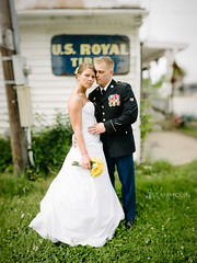 U.S. Royal Couple (Sean Molin Photography) Tags: wedding army uniform dof married military grain may indiana depthoffield editing bridal 2012 d800 lightroom 85mmf14 extremedepthoffield vsco matthewcarroll nikond800 filmemulation bokehpanorama brenizermethod wwwseanmolincom ryanbrenizermethod filmpreset nikonafsnikkor85mmf14g seanmolinphotography vscofilm visualsupplyco mallorycarroll malloryridenour