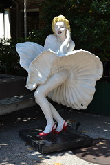 Marilyn Monroe at Savannah's City Market