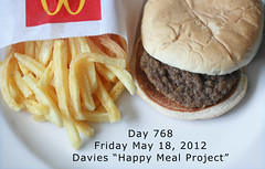 Day 768 (sally davies photo) Tags: mcdonaldshappymeal sallydaviesphoto happymealproject davieshappymealproject