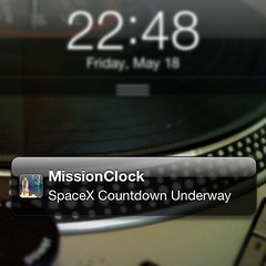 It Has Begun @SpaceX #Falcon9 #Dragon #DragonLaunch #NASASocial #NASATweetup #MissionClock