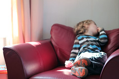 Home From Home (Kninki) Tags: feet shoes armchair broadhaven boychild 120512 hpad