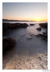 Olzo sunset #1 (Dieujs) Tags: longexposure blue sunset sea mer nature landscape corse corsica bleu paysage coucherdesoleil poselongue leefilters filtreslee