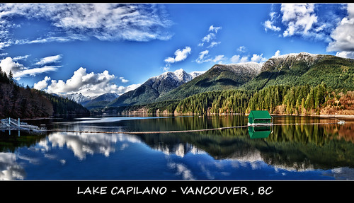 Large Lions Gate Pano with Writing