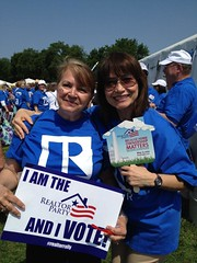 Suzanne Brady (Realtor Action Center) Tags: va marydykstra realtorrally suzannebrady