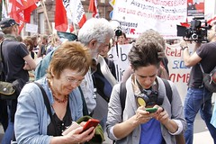 Blockupy Frankfurt (rosalux-stiftung) Tags: transformation frankfurt blockade proteste ezb krise europischezentralbank occupy blockupy
