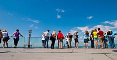 Visitors Deck (aremac) Tags: tower observation frankfurt platform deck visitor helaba germnay
