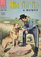 Vedette Della T.V. / Rin Tin Tin & Rusty 23 (micky the pixel) Tags: dog comics tv comic rusty hund wildwest heft schäferhund rintintin cenisio vedettedellatv