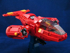 Iron Man's VTOL (DarthNick) Tags: man vertical justice wings iron ship lego contest arc landing and takeoff reactor avengers vtol fbtb foitsop