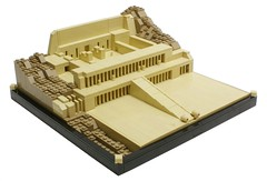 Hatshepsut temple (Matija Grguric) Tags: temple lego egypt creation egyptian civilization series luxor hatshepsut deiralbahari moc deirelbahri matijagrguric