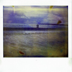 Camber Sands (forayinto35mm) Tags: sea beach polaroid cambersands expired polaroid1200