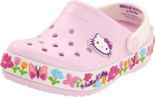 卡骆驰Crocs Hello Kitty Clog 凯蒂猫洞洞鞋(婴幼儿/小童版)