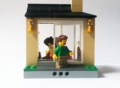 MOC: Sliding Doors (Gregorovich9) Tags: city house doors lego furniture interior functional moc minifigures