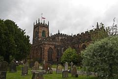 Penkridge, Staffordshire, St Michael's (Tudor Barlow) Tags: summer england churches staffordshire penkridge listedbuilding parishchurch tamron1750 churchcrawling gradeilistedbuilding