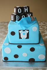 Baby Boy Shower (irresistibledesserts) Tags: boy baby shower christening