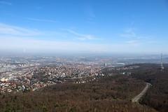 stuttgart from above (-j0n4s-) Tags: city sky color art nature canon germany landscape tv flickr stuttgart 1855mm tvtower 2016 stuttgarttvtower j0n4s
