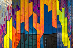 Colorigraphy (Lord Jezzer) Tags: abstract color building museum architecture colorful bright structure prairiefire