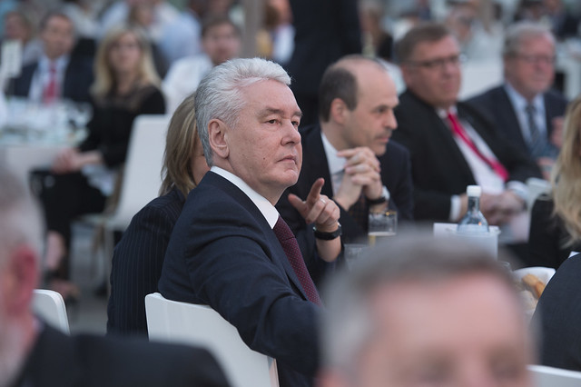 Sergey Sobyanin attends the Gala Dinner