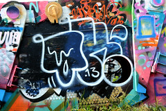 graffiti amsterdam (wojofoto) Tags: holland amsterdam graffiti nederland netherland ndsm tek13 wolfgangjosten wojofoto