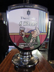 6 Weeks To Eternity, Pete McKee 2016 (Dave_Johnson) Tags: art beer artist sheffield ale exhibition alcohol pint magna realale 6weeks rotherham southyorkshire thornbridge petemckee magnacentre thornbridgebrewery 6weekstoeternity