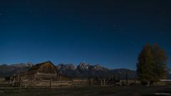 John Moulton Barn, Grand Teton National Park (Neha & Chittaranjan Desai) Tags: usa mountains heritage night barn john photography hole jackson wyoming moulton