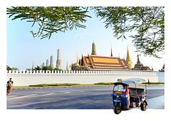 Bangkok 2016 (o Ngc Giang) Tags: thailand bangkok palace grandpalace tuktuk bangkokstreet