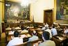 Visita al Senado de los participantes en CESEDEN 12