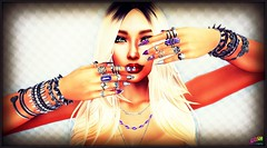 --Ana - FB Challenges - Snap... Do It #11 Bling Jewelry or Watch Showcase- (AnastasiaBergbahn) Tags: secondlife photochallenge lumipro slselfies