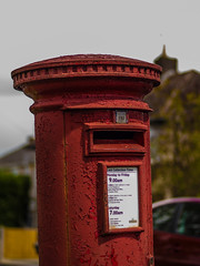The Post Box Officer (RS400) Tags: road red west up wow bristol town amazing cool colours village close post box south wicked letter
