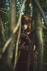 Katj Lierg (K.Ma) Tags: portrait nature girl forest project model woods fineart makeup bodypaint portraiture mystical concept magical kuma 52weeks pablocastrofernandez