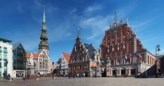 Melngalvju nams, Riga, Latvia (ladigue_99) Tags: latvia oldtown riga balticstates mainsquare lettonia townhallsquare melngalvjunams houseoftheblackheads europeancapitals repubblichebaltiche ratslaukums europeancapitalcities casadelletestenere
