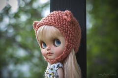 Anna by Sandra Efigenio (Dolly Adventures in the Galland Household) Tags: bear cute childhood doll outdoor helmet coco blythe custom collette takara collectibles rbl dollphotography dollartistry