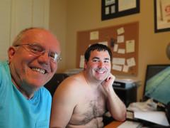 May 23, 2016 (365 Gay #28) (gaymay) Tags: california gay love office couple desert palmsprings smiles