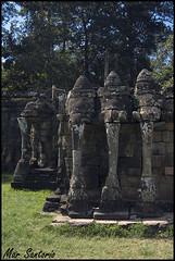 Terraza de los Elefantes (Mar Santorio) Tags: d50 nikon cambodia siemreap camboya elephantterrace terrazadeloselefantes