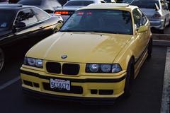 (jael_nava) Tags: sunset cars car yellow 35mm nikon track na tires bmw m3 coupe nava meaty jael e36 hankook e36m3 driveclub