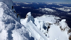 Dream! / Sueo! (Pajaro Post) Tags: patagonia snow ice nieve cielo iceclimbing bariloche sueo esqu tronador promontorio snowwwwwwwwwwww esqudetravesa