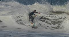 Sliding through the Foam (cetch1) Tags: surfing waveporn northerncaliforniasurfing rodeobeach surfer surf bigwave surfboard beach