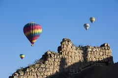 beyond the wall (eb78) Tags: turkey middleeast hotairballoon cappadocia anatolia goreme