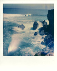 the coast (Scott Asano) Tags: polaroid sx70 sonar impossibleproject impossiblepx70